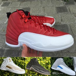 Retro 12 Basketball Shoes Men Cheap XII Boots High Quality For Sale Sneakers 2016 New Online Sport Shoes Free Drop Shipping 8-13