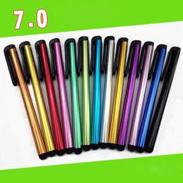 2016 écran tactile pour samsung Capacitif Stylet Écran tactile Pen Avec Colorful écran universel Touch Pen Stylet Pour téléphone et ipad2 / 3/4 B0301 écran tactile pour samsung ventes