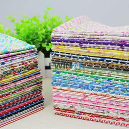 24*20cm Cotton fabric Design Flower Serier Patchwork Fabric Fat Craft Quater Bundle Sewing For Fabric 50pcs lot
