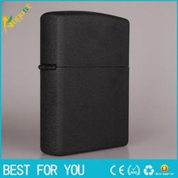 Wholesale Super big cool KY A B C four color cm big lighter metal lighter kerosene lighter packing with white box