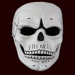 Spectre Horror Mask Halloween House Party Cosplay Props Action Adventure Thriller Role Bond Same Resin Masks Free Shipping