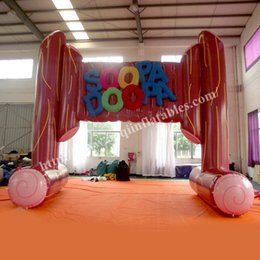 guangzhou inflatable game factory new style inflatable arch inflatable entrance arch finish line inflatable arch for sale