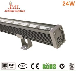 DC currents LED wash wall light waterproof metarail lighting used building wash wall lightg high power lighting