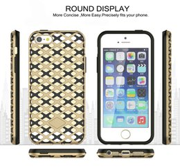 For Iphone 6 Armor Case Ultra-Thin Curve Armor Hard PC Soft TPU Case Slim 2 In 1 Shockproof Removable Case DHL SCA135
