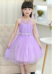 High Quality Summer Casual Girl Dresses Princesses Baby Dresses Lace Flowers Dresses Christening Dresses Party Dresses