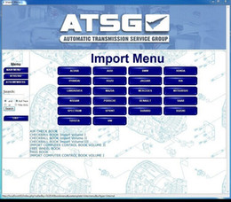Wholesale auto repair software ATSG Automatic Transmissions Service Group Repair Information ATSG car repair manuals group transmission
