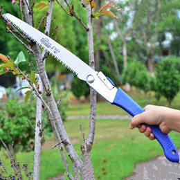 Wholesale Mini Portable Home Manual Pruning Hacksaw Garden Folding Trimming Saw Pruning Garden Household Anti skip Hand Steel Sawing Tool
