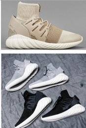 Wholesale 2016 Hot Mens running shoes y3 Tubular Doom PK Special Forces TUBULAR DOOM PK warrior Sock shoes eur36 freeshipping