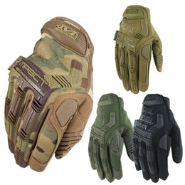 Wholesale Mechanix Wear M Pact Multicam Army Military Tactical Gloves Outdoor Motorcycle Cycling Bicycle Airsoft Shooting Paintball Full Finger Gloves