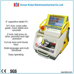 Free shipping! world widely used professional SEC-E9 Fully automatic key cutting machine with free update for lifelong