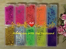 Wholesale The Cute Style Love of quicksand Phone case TPU apply to iPhone Samsung LG Plastic phone cases