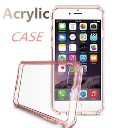 Wholesale 2016 Hot iphone7 acrylic anti falling cell phone case for earthquake for iphone s plus