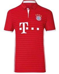 Wholesale A Thai quality Bayern munich home red Soccer Jersey Bayern LAHM LEWANDOWSKI MULLER ROBBEN soccer jerseys