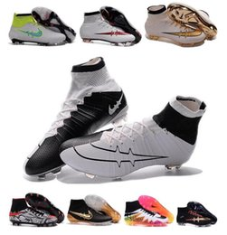 Wholesale Magista Soccer Cleats Hypervenom Shoes High Ankle Football Boots Men s Cleats Sport Soccer Shoes Superfly Men s Football Shoes