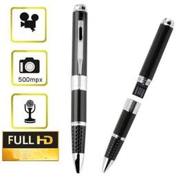 Acheter en ligne Enregistrement vidéo cachée-Caméra cachée stylo 720p HD enregistreur vidéo, caméra mini stylo avec prise DVR Enregistrement audio séparé