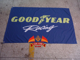 good year racing team flag,100% polyester 90*150cm,Digital Printing,good year racing banner