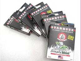 Wholesale Top sales Starbuzz E Hose cartridges refillable Multi Flavor E Hose atomizer Various for Starbuzz ehose Mod pack flavours