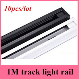 1m LED track light rail track lighting fixture rail for track lighting Universal rails,track lamp rail,free shipping(10pcs lot)