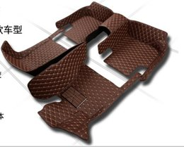 Wholesale 5D Leather XPE Car Floor Mats for Chevrolet AVEO Ang Kela Epica Cruze Camaro Captiva