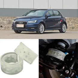 Wholesale 2pcs Super Power Rear Car Auto Shock Absorber Spring Bumper Power Cushion Buffer Special For Audi A1