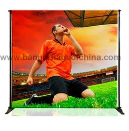Wholesale x8 Step And Repeat Backdrop Telescopic Pop Up Banner Stand System