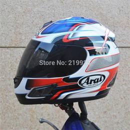 Wholesale ARAI helmet motorcycle helmet Full Face helmet Men run Genuine Abs Pc material safety helmet