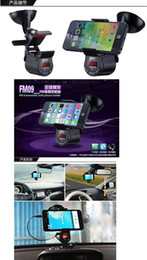 Wholesale Multi function car MP3 player Multi Functional Car Mp Player Phone Bracket Support FM Radio Speaker For Vehicle Automatic Navigator