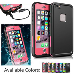 Protection téléphone cellulaire en Ligne-Boîtier étanche 2016 fre de cas de téléphone portable pour iPhone 6s 6 4.7 pouces New fre Eau / Dirt / neige de haute qualité de boîtier de protection Proof