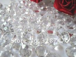 2017 tableau acrylique clair 1000pcs 4.5mm Tableau acrylique clair diamant Confetti Wedding Party Scatters Décoration 16010011 (4.5D1000) tableau acrylique clair offres