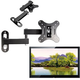 Wholesale Articulating Universal TV Bracket inch to inch LED LCD POP Flat Panel TV Wall Mount Holder