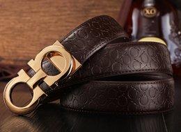 Ceintures Grossistes Nouveau Mode Hommes Business Ceintures Belt Jewelry Big Buckle Ceintures en cuir véritable pour hommes Ceinture 2016 à partir de grossiste pour les boucles de ceinture fabricateur