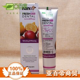 Wholesale g lemon and mango flavor toothpaste