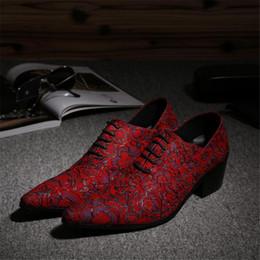 Descuento los hombres hechos a mano de los zapatos oxford Rojo de impresión de cuero hecho a mano para hombre zapatos de diseño de diseñador punta Toe hombres de encaje hasta Oxford zapatos de tacón zapatos de peluquería para los hombres