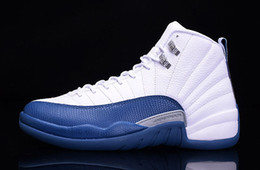 Wholesale Top Quality Retro French Blue GS Flu Game Shoes sneakers shoes Men size by EMS