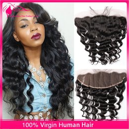Base Frontal Brazilian Deep Wave Full Frontal Lace Closure 13x4 Lace Frontal Closure With Baby Hair Lace Top Closure
