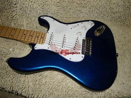 Wholesale Guitar Free Shipping New Arrival Bule Solid 6 Strings Electric Guitar From China High Cheap A126