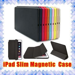 Wholesale ipad case Apple iPad Mini Air Slim Magnetic Leather Smart iPad Cases Cover Wake Protector