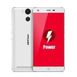 Wholesale 6050mAh battery quot Original Ulefone Power cellphone G LTE Fingerprint MTK6753 Octa Core Android6 mobilephone GB GB MP smartphone