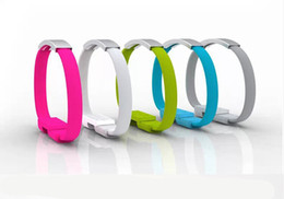 Wholesale Cell Phone Bracelet Wrist Band Charger Portable USB Charging Data Sync Cable Imac Macbook Usb Extension