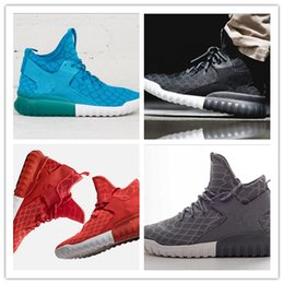 Wholesale 40 cheap Top quality with original box originals Serpentine Y TUBULAR HIGH TOP SNEAKERSKIN man sports shoes drop shipping