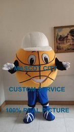 Wholesale basketball mascot ball costume custom cartoon character fancy dress carnival costume anime cosply kits mascotte