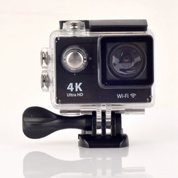 Wholesale Action camera EKEN H9 H9R Ultra HD K fps WiFi inch D pro Helmet Cam underwater waterproof camera go Sport camera