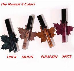 Wholesale Best kylie kit Lipstick KYLIE JENNER LIP KIT Matte Lipstick BROWN SUGAR DIRTY PEACH LOVE BITE smile pumpkin spice moon trick