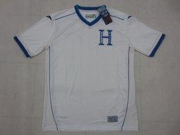 Wholesale Clearance Prices Wrold Cup Honduras Home Away Soccer Jersey White Blue Soccer Jerseys Fottball Jerseys Jersey