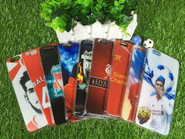 Wholesale football stars Premier League of Liverpool Football Club TPU Phone Cases Cover for iPhone6 s Plus Samsung galaxy s7 S6 Edge cases hybrid
