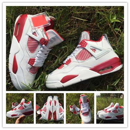 Wholesale With Box Cheap New Air Retro IV Alternate Mens Basketball Shoes Sneakers Top Quality Running Shoes For Men Shoe