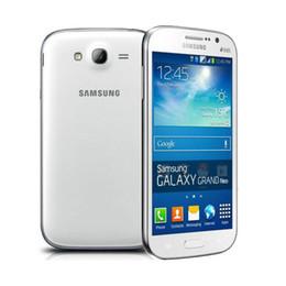 Pouces 1gb en Ligne-Original débloqué Samsung GALAXY Grand Neo Plus I9060i 5 pouces Quad Core 1.2Ghz 1Go / 8Go 5MP Dual Sim Remis à neuf Téléphone mobile