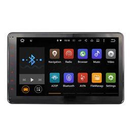 Wholesale Joyous Universal stéréo voiture Système de navigation GPS Android Lollipop Quad Core Double voitures Unité Din Head Lecteur DVD