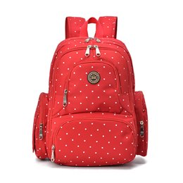 2016 New 7 Colors Large Capacity Maternity Backpack Travel Diaper Backpack Multifunctional Waterproof Nappy Bags
