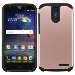 Hybrid Heavy Defender Slim Armor Case for ZTE Sonata 3 Avid Trio Z831 Zmax 2 for ZTE Zmax Pro Z981 Warp 7 N9519